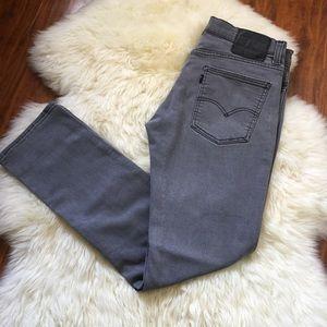 Levi's 511  Skinny Fit Gray Stretch Denim